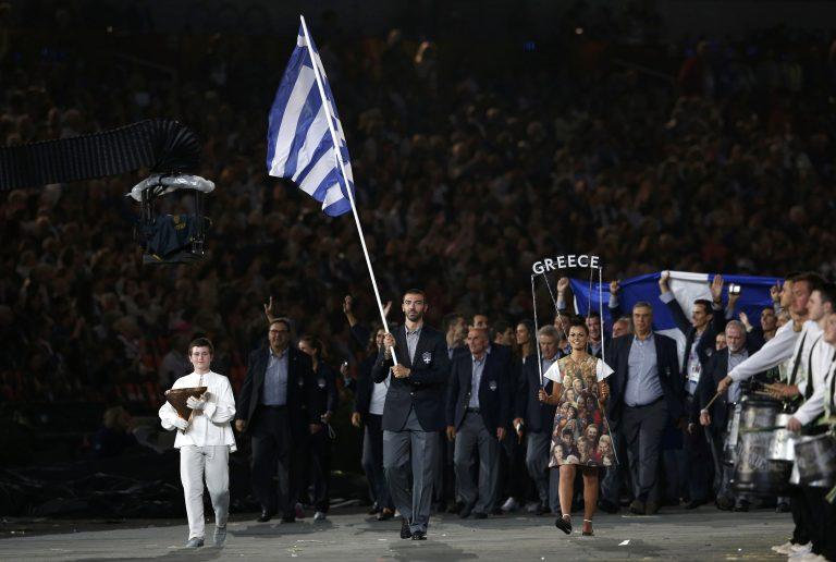 Η Ελληνική αποστολή στο Ολυμπιακό στάδιο του Λονδίνου (ΦΩΤΟ) | Newsit.gr