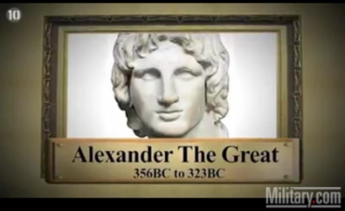 Οι 10 μεγαλύτεροι στρατιωτικοί ηγέτες όλων των εποχών. Πρώτος είναι φυσικά Έλληνας! ΒΙΝΤΕΟ   Newsit.gr