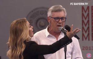Ο Αντσελότι το… έριξε στο τραγούδι! Ντουέτο με την Anastacia [vid]