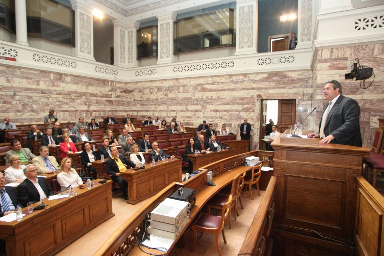 ΑΝΕΛ: Μνημόνιο ίσον χρεοκοπία και έξοδος από το ευρώ   Newsit.gr