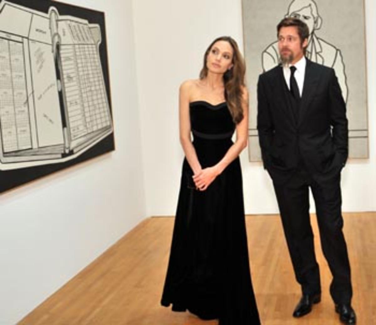Brangelina:Μια νύχτα στο μουσείο!   Newsit.gr