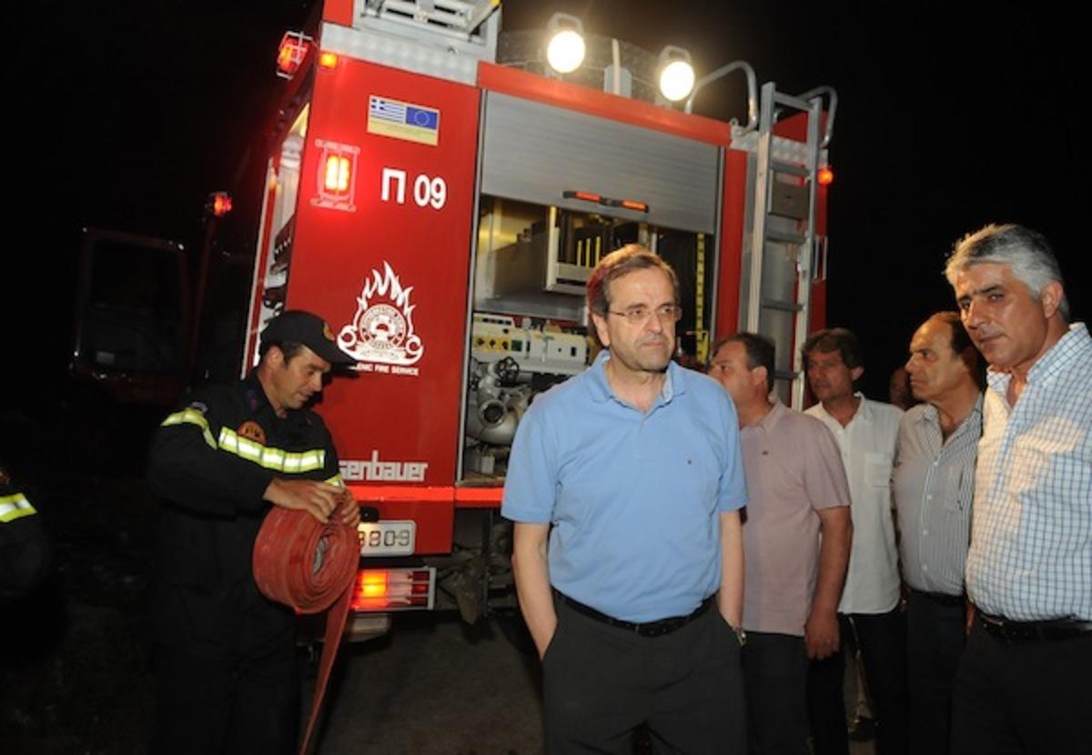 Σε ύφεση η φωτιά στην Πύλο | Newsit.gr