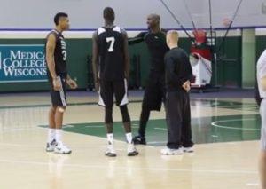 NBA: Τα… ιδιαίτερα μαθήματα του Γκαρνετ στον Aντετοκούνπο [vid]