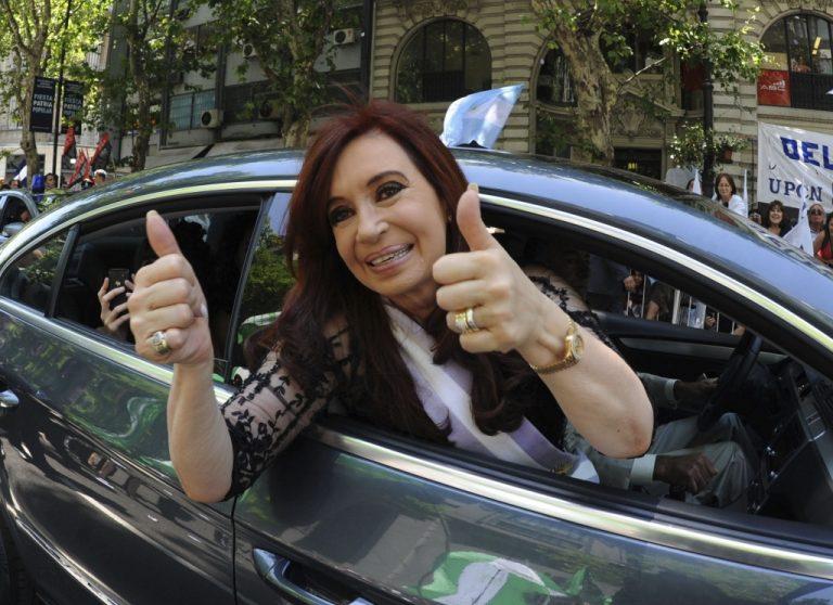 Συγκινημένη η πρόεδρος της Αργεντινής από την υποστήριξη του λαού και ομολόγων της   Newsit.gr
