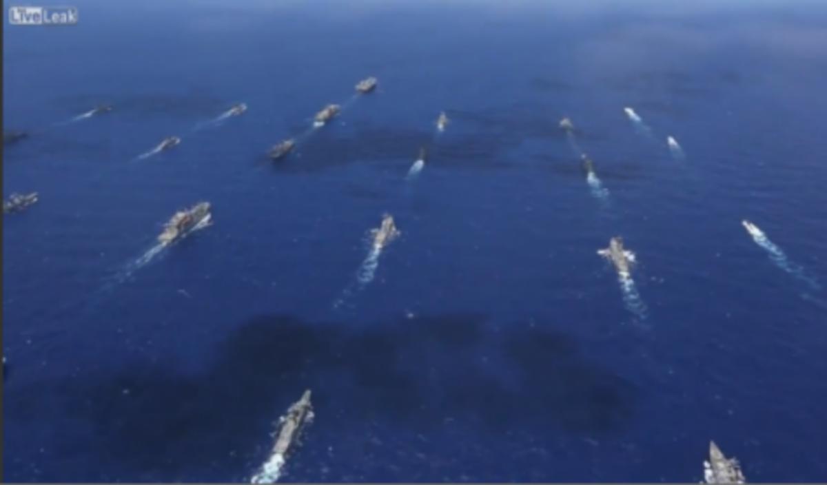 Η μεγαλύτερη αεροναυτική άσκηση! Δείτε τη σε βίντεο   Newsit.gr
