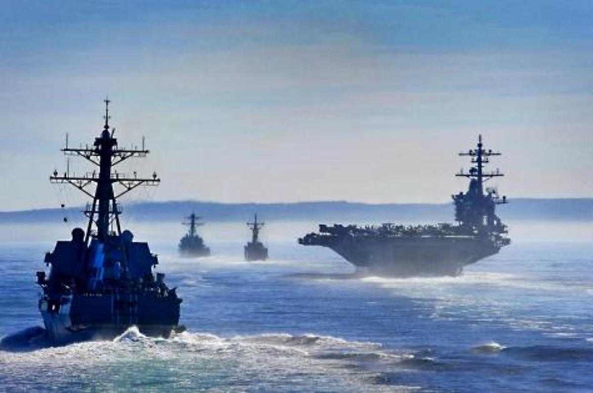 Άσκηση-μυστήριο Ελλάδας-Ισραήλ-ΗΠΑ,υπό τη διοίκηση του Enterprise.Βίντεο | Newsit.gr
