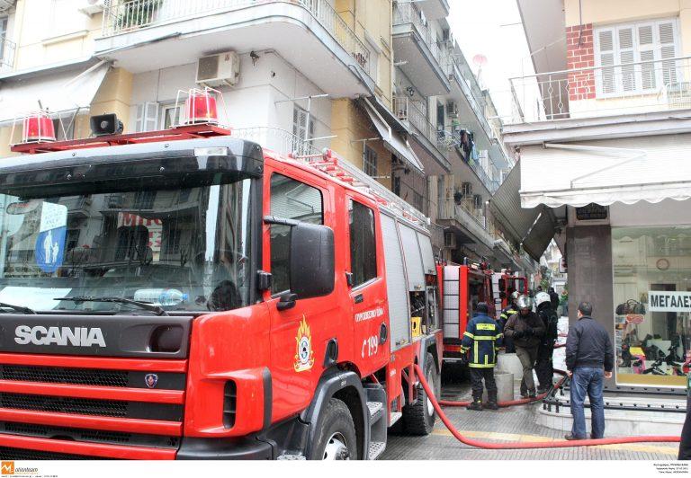 Φωτιά σε μάντρα αυτοκινήτων στον Ασπρόπυργο | Newsit.gr