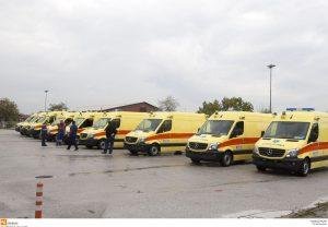Ελάχιστα τα ασθενοφόρα στο Βόρειο Αιγαίο