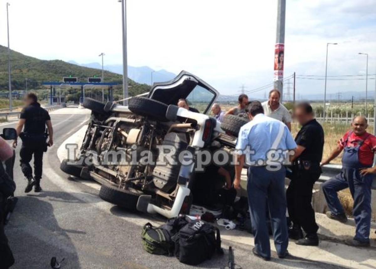 Τούμπαρε τζιπ της Αστυνομίας – Τέσσερις αστυνομικοί τραυματίες!   Newsit.gr
