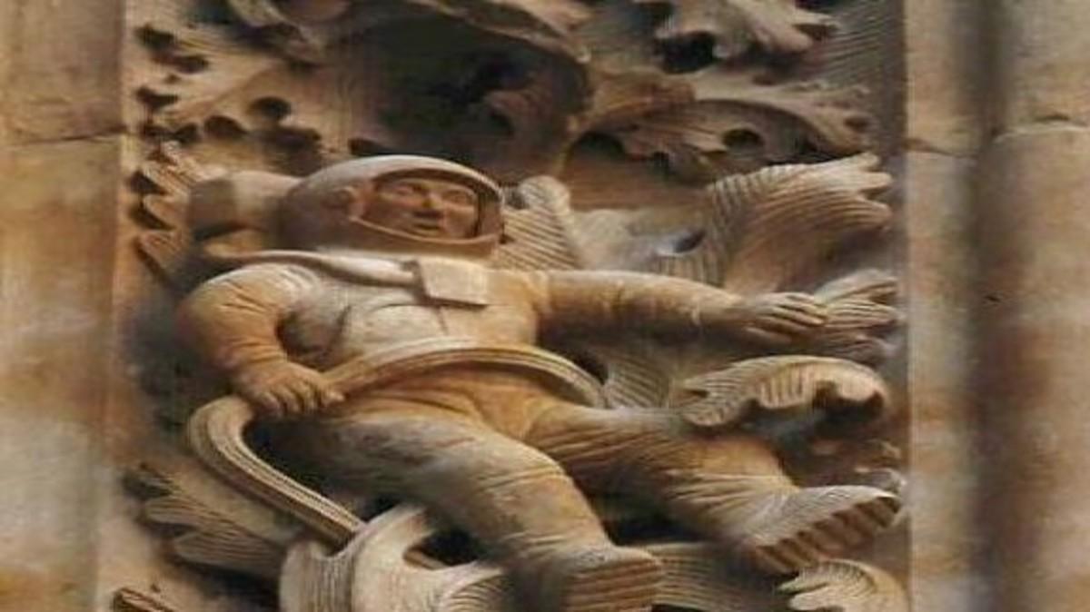 Αρχαίος αστροναύτης σε καθεδρικό ναό του 1102 μΧ στην Ισπανία – ΒΙΝΤΕΟ   Newsit.gr