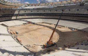 Σοβαρός τραυματισμός εργάτη στο νέο γήπεδο της Ατλέτικο [pics, vid]