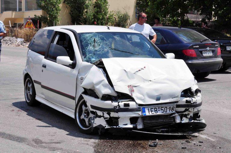 Ηράκλειο: Τροχαίο με 3 τραυματίες | Newsit.gr