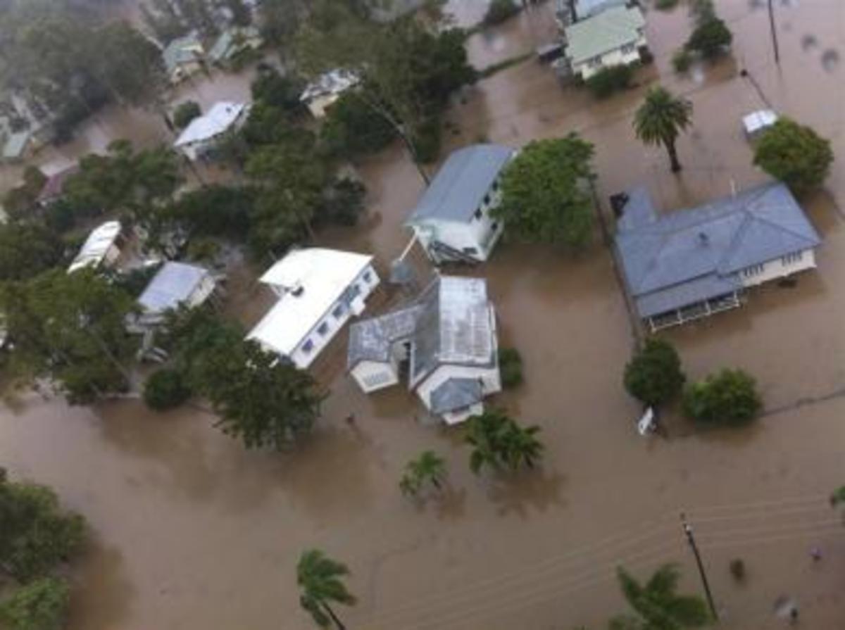 Καταστροφή βιβλικών διαστάσεων στην Αυστραλία από τις πλημμύρες | Newsit.gr