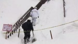 Φόβοι για 8 νεκρά παιδιά από χιονοστιβάδα στην Ιαπωνία