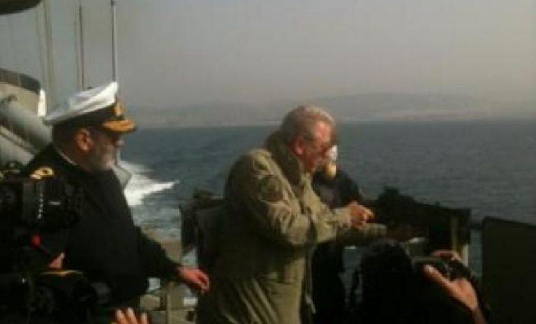 Ο Αβραμόπουλος πήρε τ΄ όπλο του – Φωτογραφίες από τον Πυρπολητή | Newsit.gr