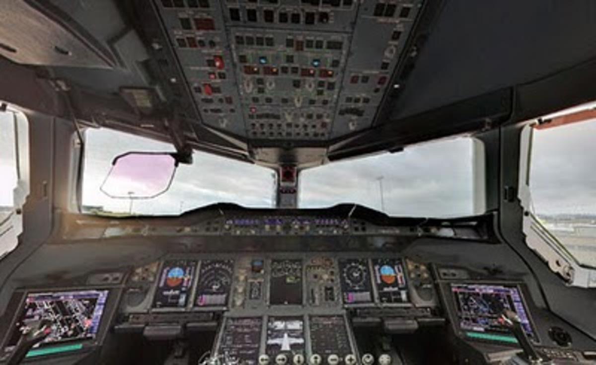 Πρώτη πτήση για το νέο Airbus Α-380 της Air France   Newsit.gr