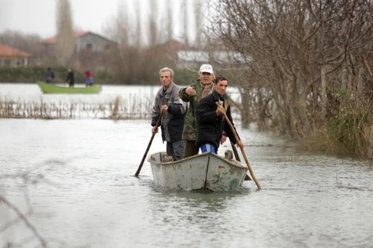Σε επιφυλακή οι αρχές στην Αλβανία λόγω πλημμυρών   Newsit.gr