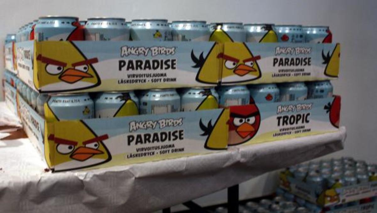 Πρώτο σε πωλήσεις το αναψυκτικό Angry Birds στη Φινλανδία! | Newsit.gr