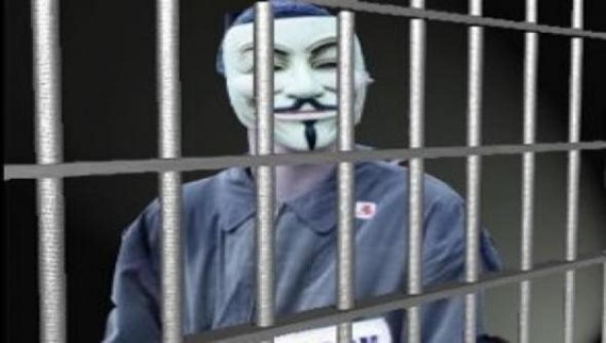Συνέλαβαν 12 hackers μέλη των Anonymous!   Newsit.gr