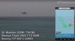 Η στιγμή που Boeing 737 παραλίγο να πέσει στη θάλασσα! [vid]