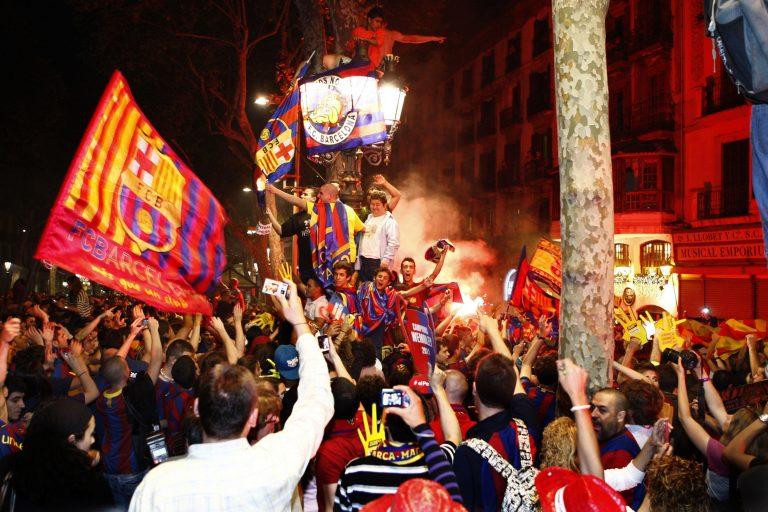 Πανηγυρισμοί και επεισόδια στην Βαρκελώνη – Δείτε βίντεο   Newsit.gr