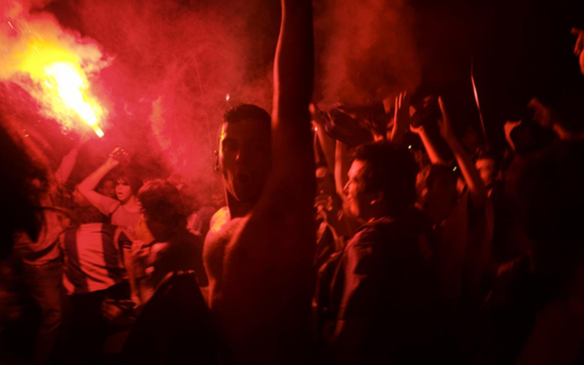 Επεισόδια στην Βαρκελώνη | Newsit.gr
