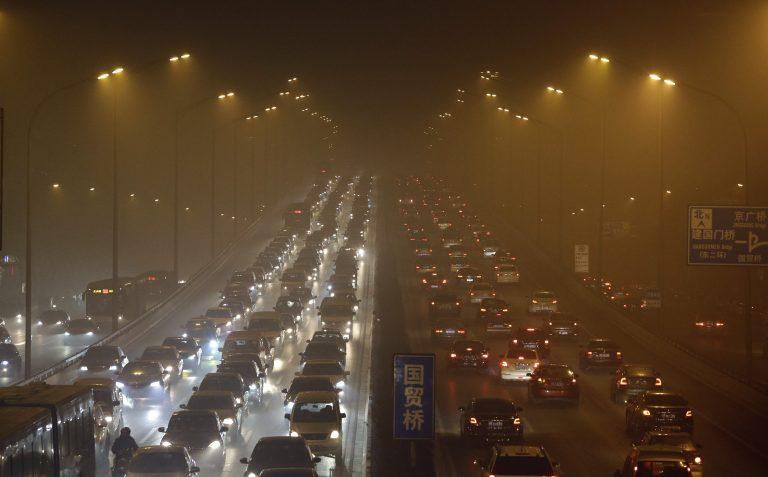 Πνίγεται στο νέφος το Πεκίνο – ΦΩΤΟ   Newsit.gr