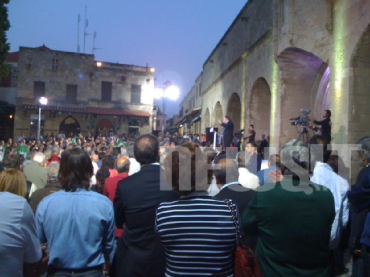 Το μήνυμα του Βενιζέλου από τη Ρόδο: Εάν ο λαός επιλέξει κάτι διαφορετικό ας το κάνει αλλά χωρίς εμάς | Newsit.gr