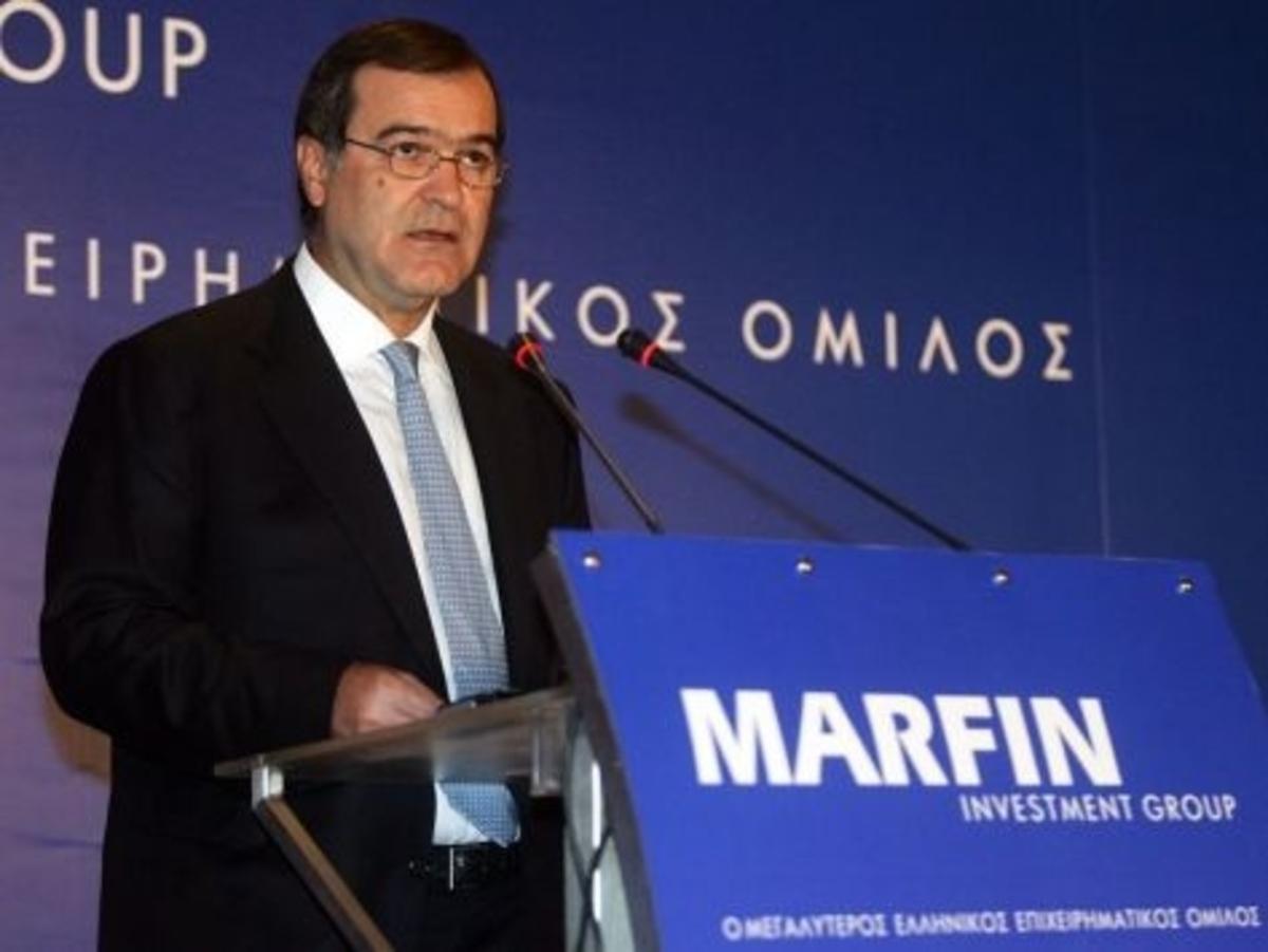 Παραιτήθηκε ο Βγενόπουλος από την  Marfin Bank   Newsit.gr