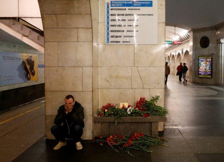 Έκρηξη στην Αγία Πετρούπολη: 15 οι νεκροί από την επίθεση στο μετρό
