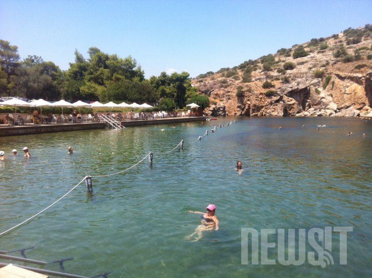 Λίμνη Βουλιαγμένης: βουτιά στο θρύλο – Δείτε ΦΩΤΟ | Newsit.gr