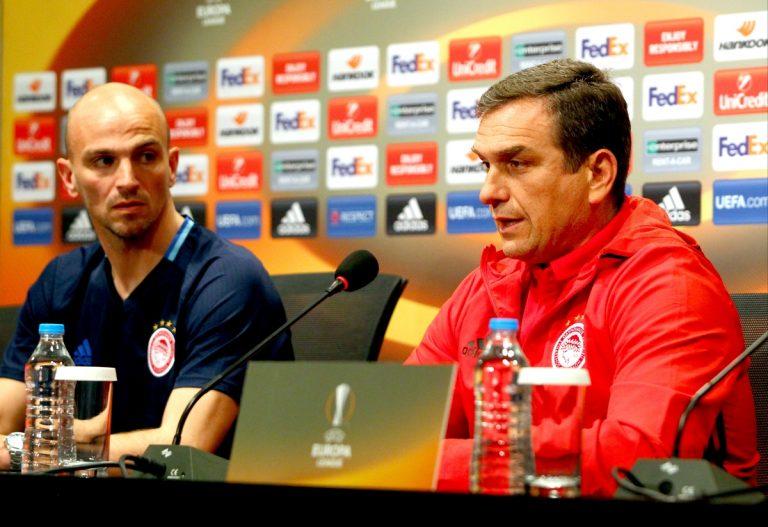 Μπεσίκτας – Ολυμπιακός, Βούζας: «Θα εξαντλήσουμε τις πιθανότητες πρόκρισης» | Newsit.gr