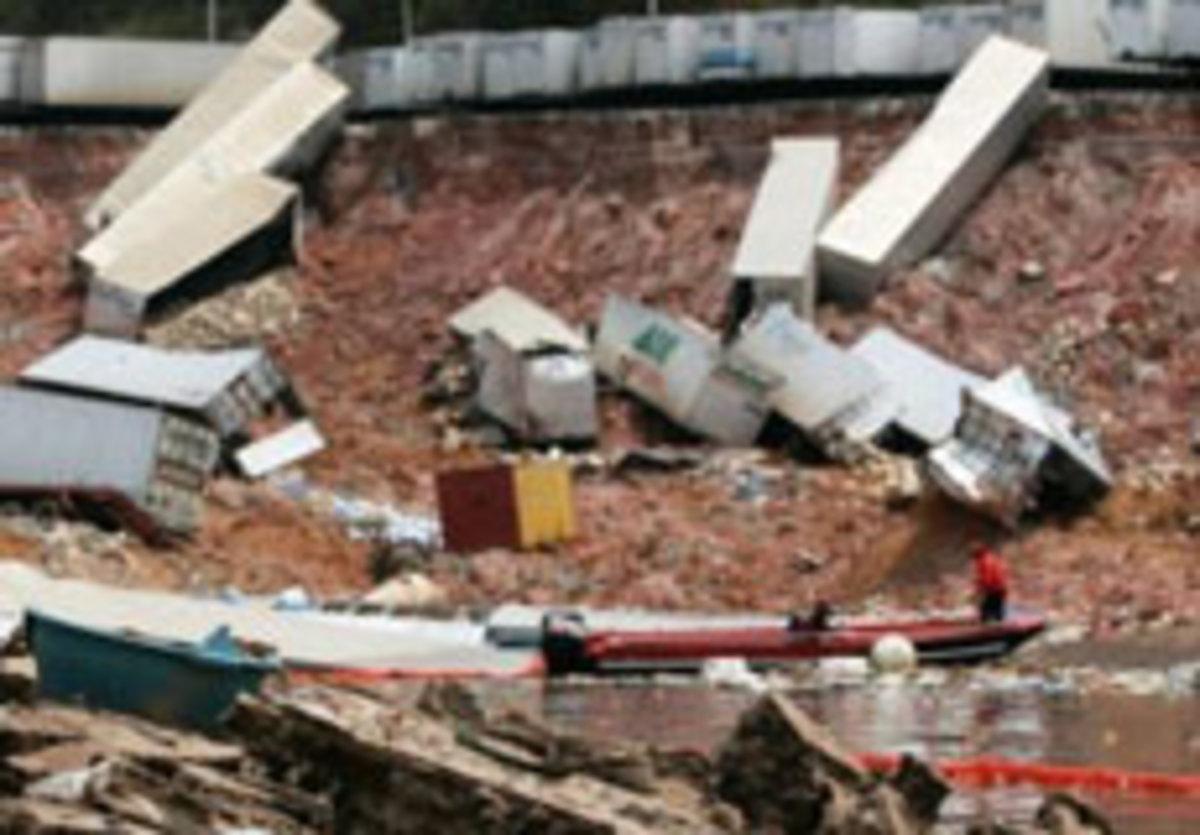 Γεωλίσθηση καταστρέφει λιμάνι στη Βραζιλία – Δείτε το video | Newsit.gr