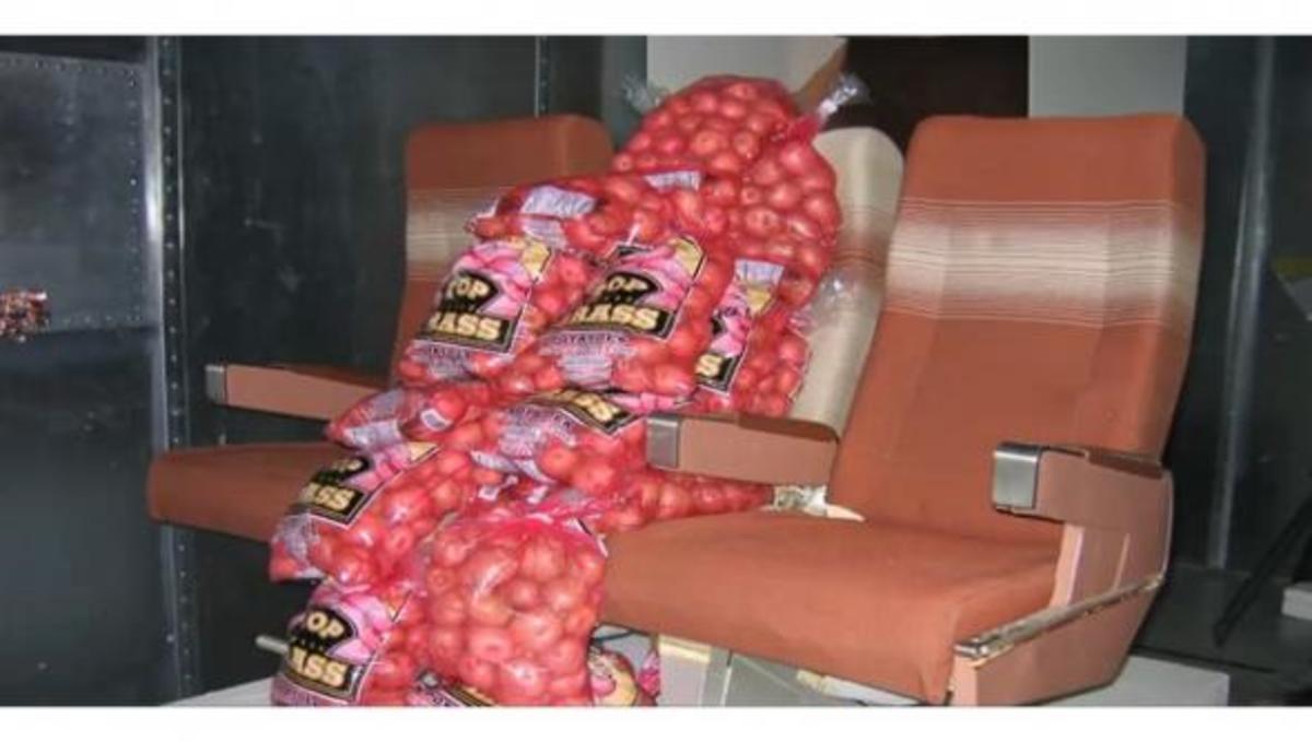 Πατάτες… χρησιμοποιεί η Boeing για δοκιμές σήματος WiFi | Newsit.gr
