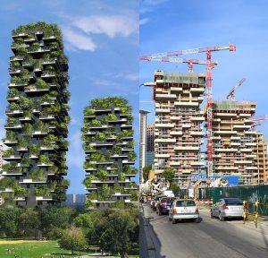 Σπίτια από δάσος στο Μιλάνο!