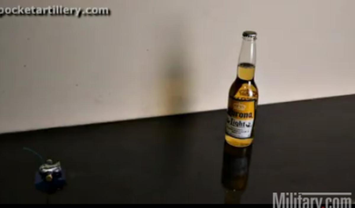 Απίστευτο βίντεο!Το πιο μικρό «κανόνι» του κόσμου,τινάζει στον αέρα…μια μπύρα!Δείτε το βίντεο | Newsit.gr