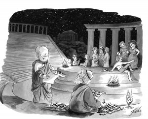 New Yorker: Το σκίτσο της ελληνικής τραγωδίας