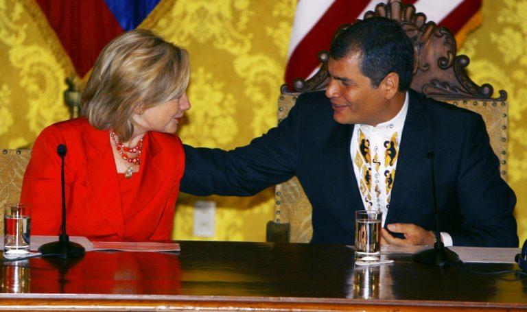 Προσπάθεια συμφιλίωσης ΗΠΑ – Ισημερινού   Newsit.gr