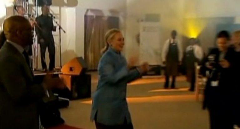 Όταν η Χίλαρι το ρίχνει στο χορό! – ΒΙΝΤΕΟ   Newsit.gr