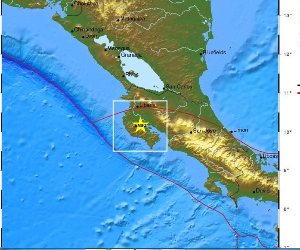 Δύο νεκροί από τον ισχυρότατο σεισμό των 7,6 Ρίχτερ στην Κόστα Ρίκα   Newsit.gr