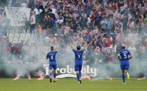 Euro 2016: Πρόστιμο στην Κροατία για τα επεισόδια των οπαδών της