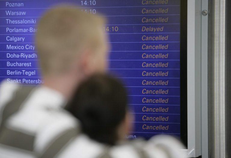 Για 4η ημέρα καθηλωμένα τα αεροπλάνα στην Ευρώπη | Newsit.gr