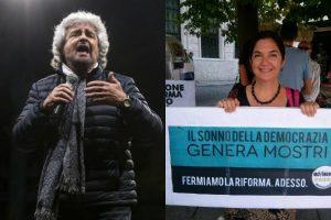 Ο Μπέπε Γκρίλο «μπλόκαρε» την Μαρίκα Κασιμάτη για τη δημαρχία της Γένοβας