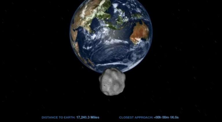 Μετά τους μετεωρίτες ένας αστεροειδής πέρασε σε απόσταση αναπνοής από τη Γη | Newsit.gr