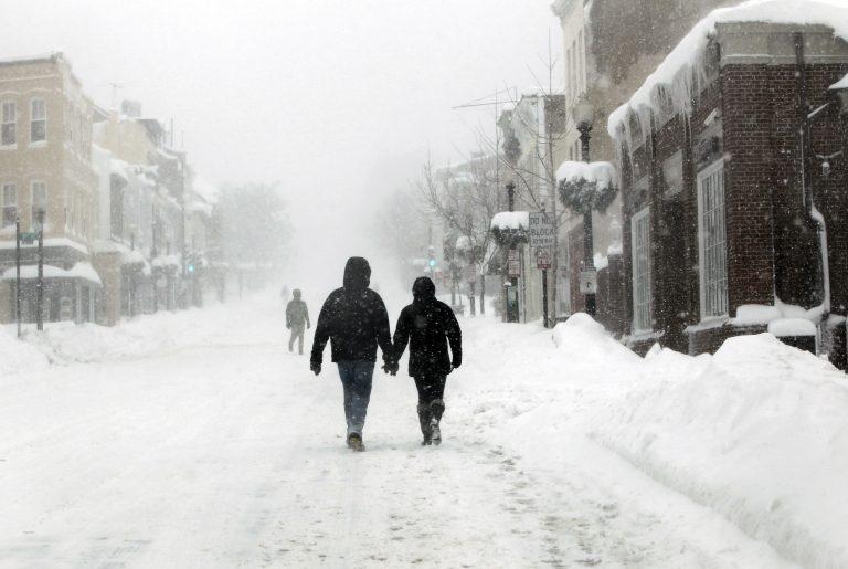 Σφοδρή χιονοθύελλα στις ΗΠΑ   Newsit.gr