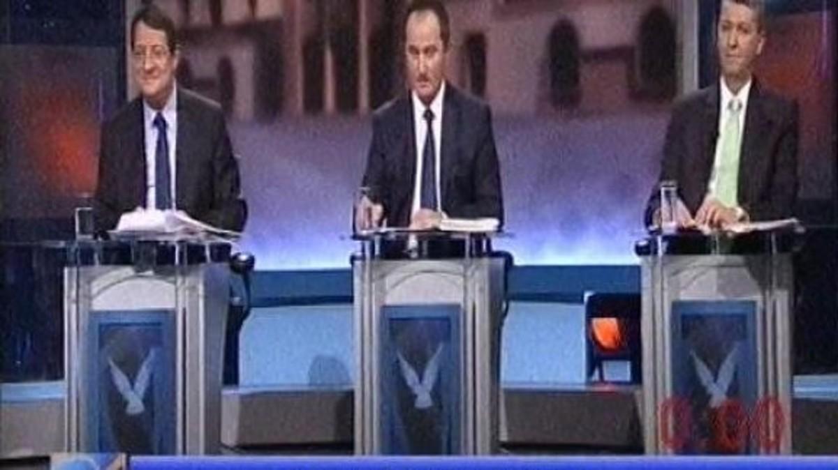 Θρίλερ στην Κύπρο από την πρώτη τηλεοπτική μάχη των υποψηφίων | Newsit.gr