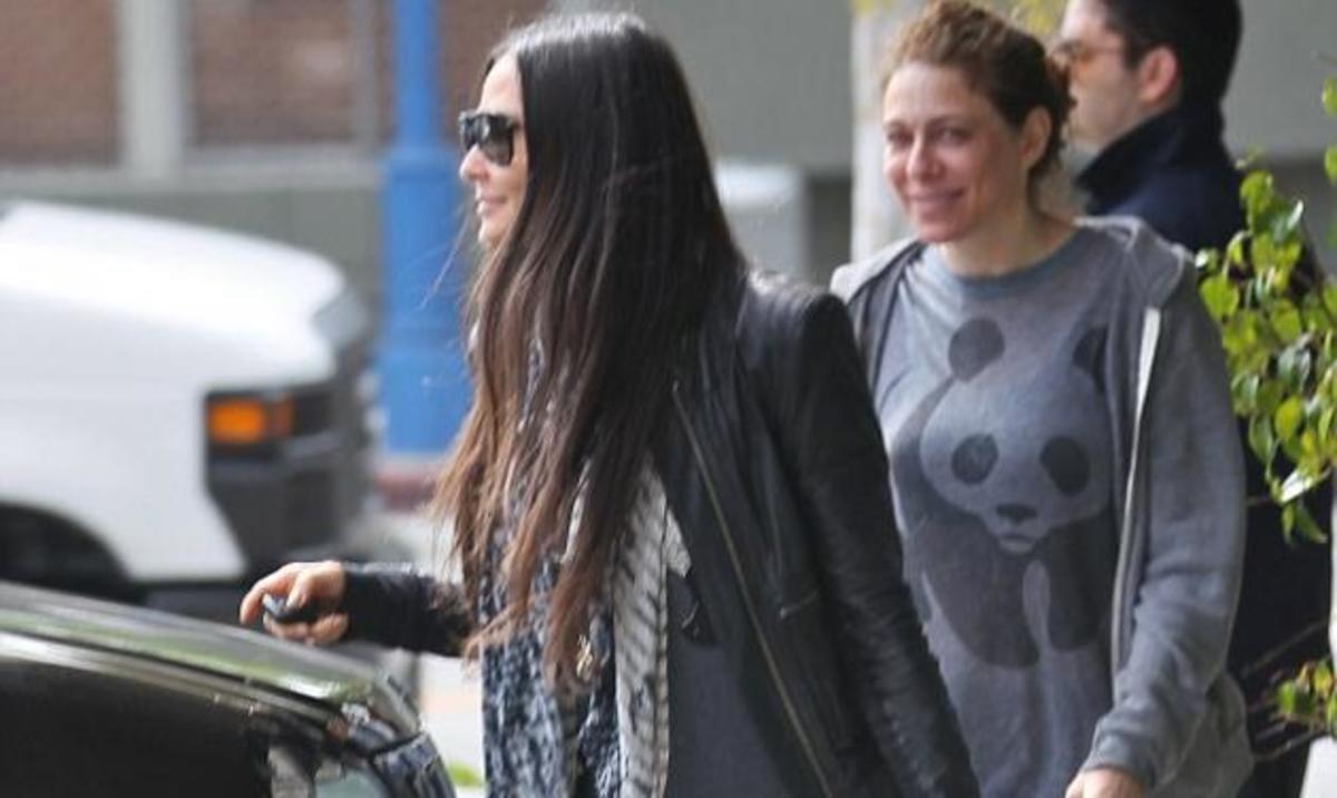 Demi Moore: Χαμογελά μετά το γυμναστήριο παρόλο που ετοιμάζεται για τη μάχη του διαζυγίου! | Newsit.gr