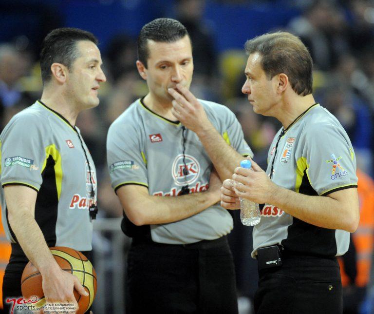 Οι διαιτητές των τελικών της Α1 μπάσκετ | Newsit.gr
