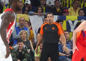 Τελικός Euroleague: Οι διαιτητές του Φενέρμπαχτσε – Ολυμπιακός
