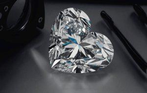Παγκόσμιο ρεκόρ για σπάνιο διαμάντι σε σχήμα καρδιάς!